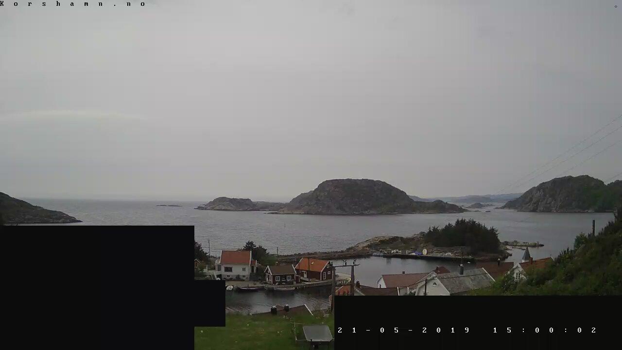 Webcam Korshamn, Lyngdal, Vest-Agder, Norwegen